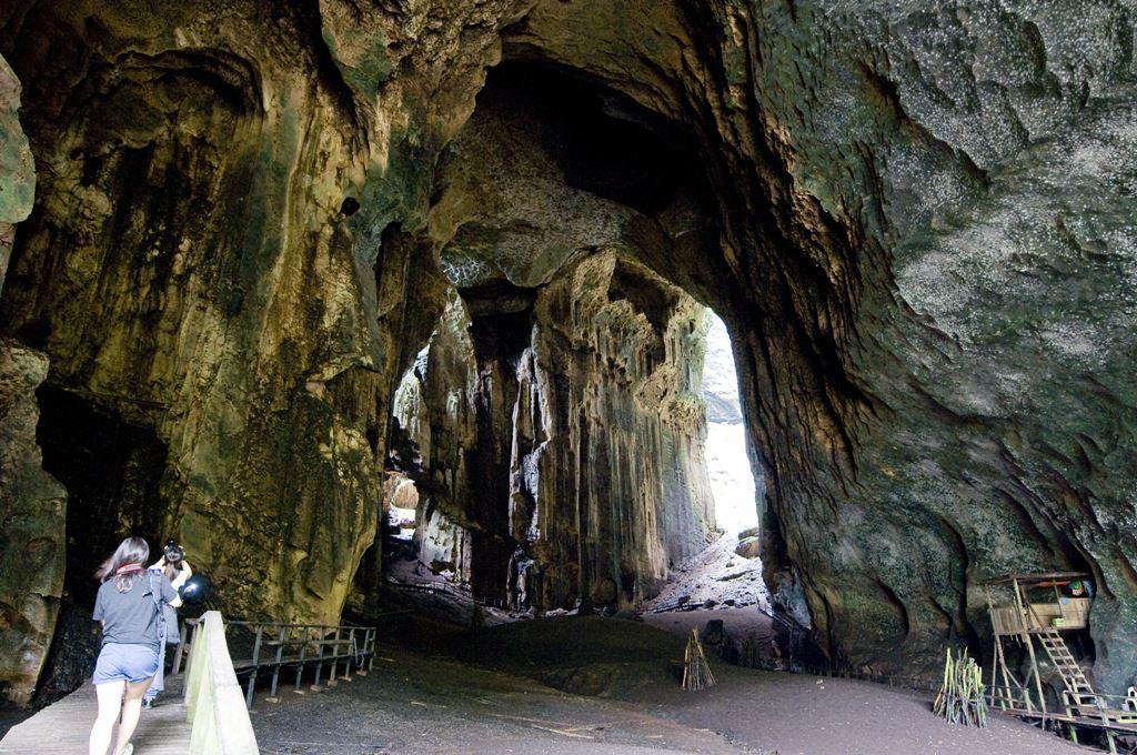 Caverna Gomantong, e os ninhos dos andorinhões